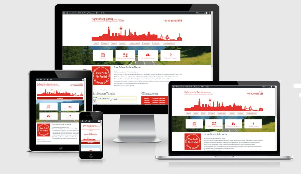 Ihre Fahrschule in Berne mit neuer Online-Präsenz